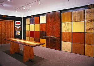 Whittelsey Wood Products showroom